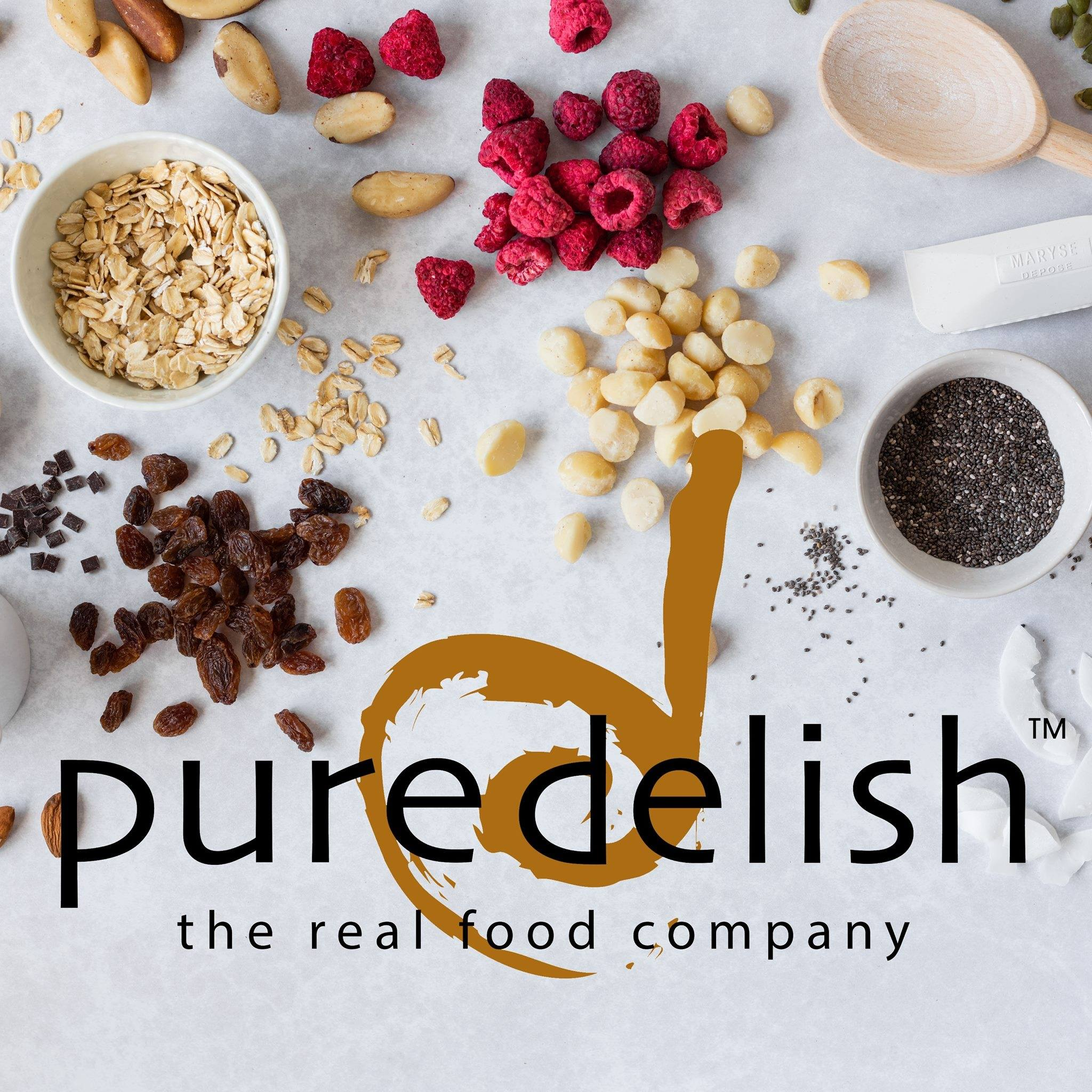 Pure Delish logo